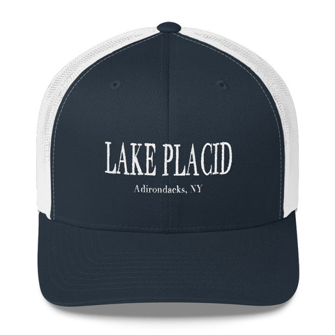 Lake Placid Trucker Hat - Blue Trucker Hat