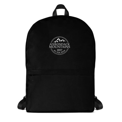 Adirondack Draw String Backpack | Adirondack Hiking Backpack | Adirondack Apparel | Front View