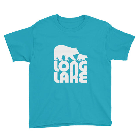 Kids Long Lake Logo T-Shirt | Adirondack Kids Apparel