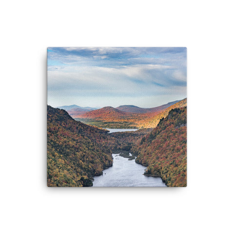 Adirondack Canvas Wall Art | Adirondack Mountains, NY | Lower Ausable Chasm | Canvas Wall Art | Adirondack Home Goods