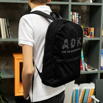 Adirondack Draw String Backpack | Adirondack Hiking Backpack | Adirondack Apparel | Lifestyle Shot 2