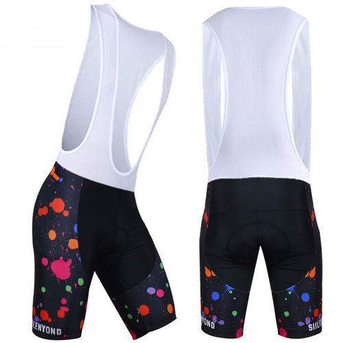 SIILENYOND Cycling Bib Shorts (Spotted)
