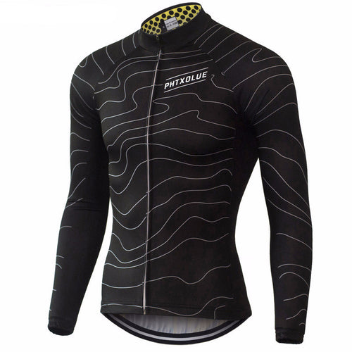 PHTXOLUE Men's Long Sleeve Cycling Jersey (Two Colors)