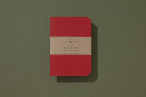 Blank Pad - Bright Red