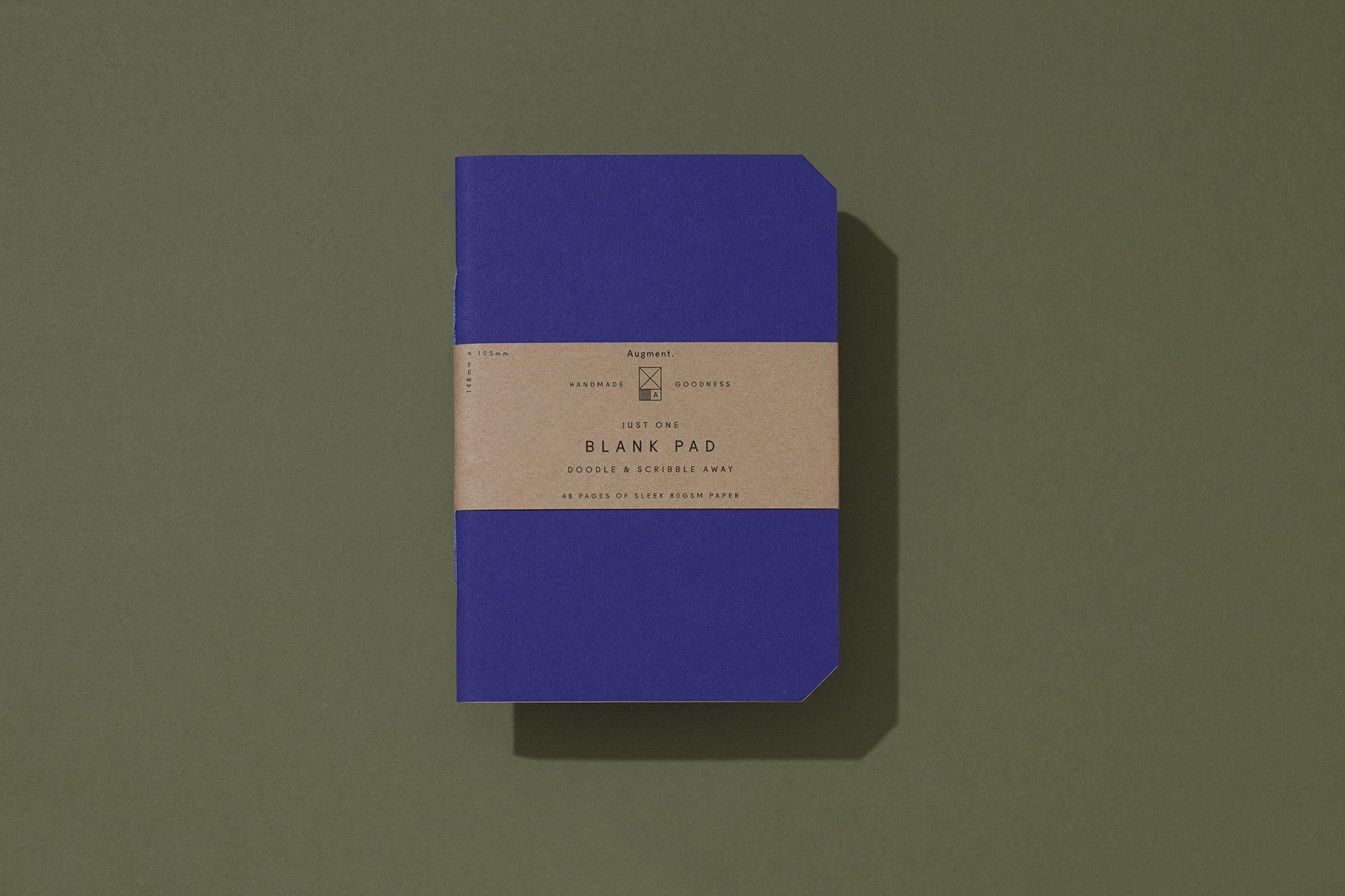 Blank Pad - Royal Blue