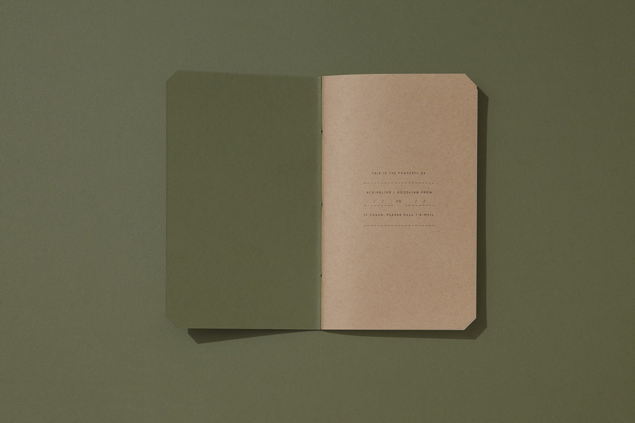 Upsized Blank Pad — Mid Green