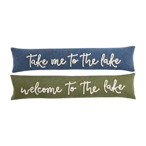 Lake Rope Skinny Pillows Mud Pie