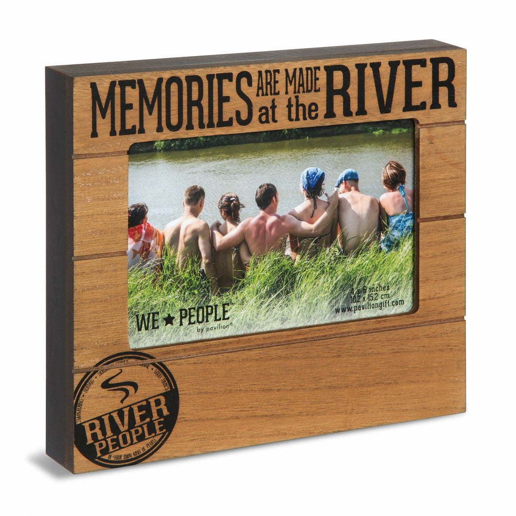 Memories Are Made At The River Photo Frame