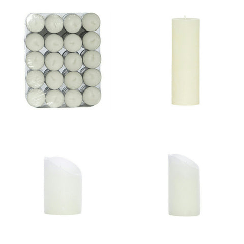 PILLAR CANDLES - SALE