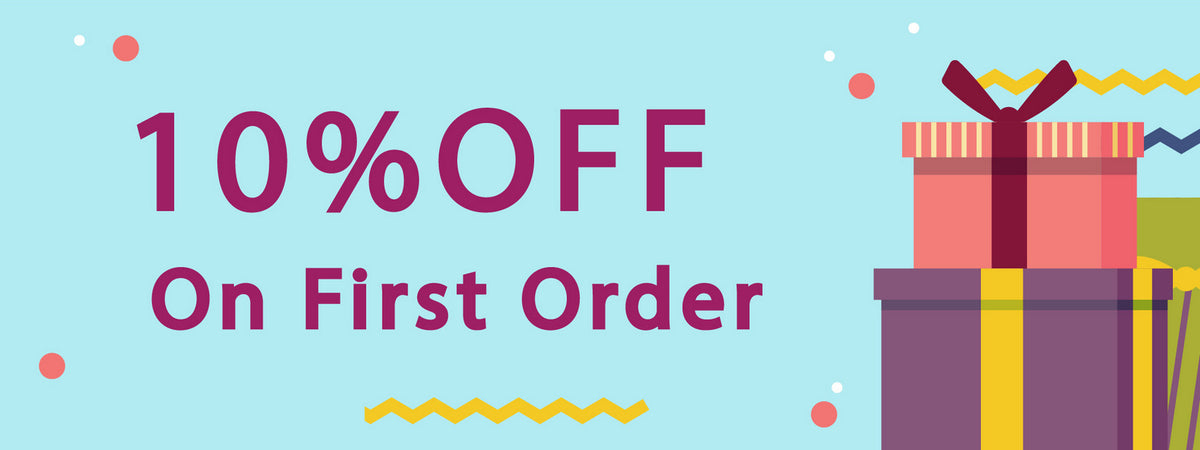 First order discount 10% OFF