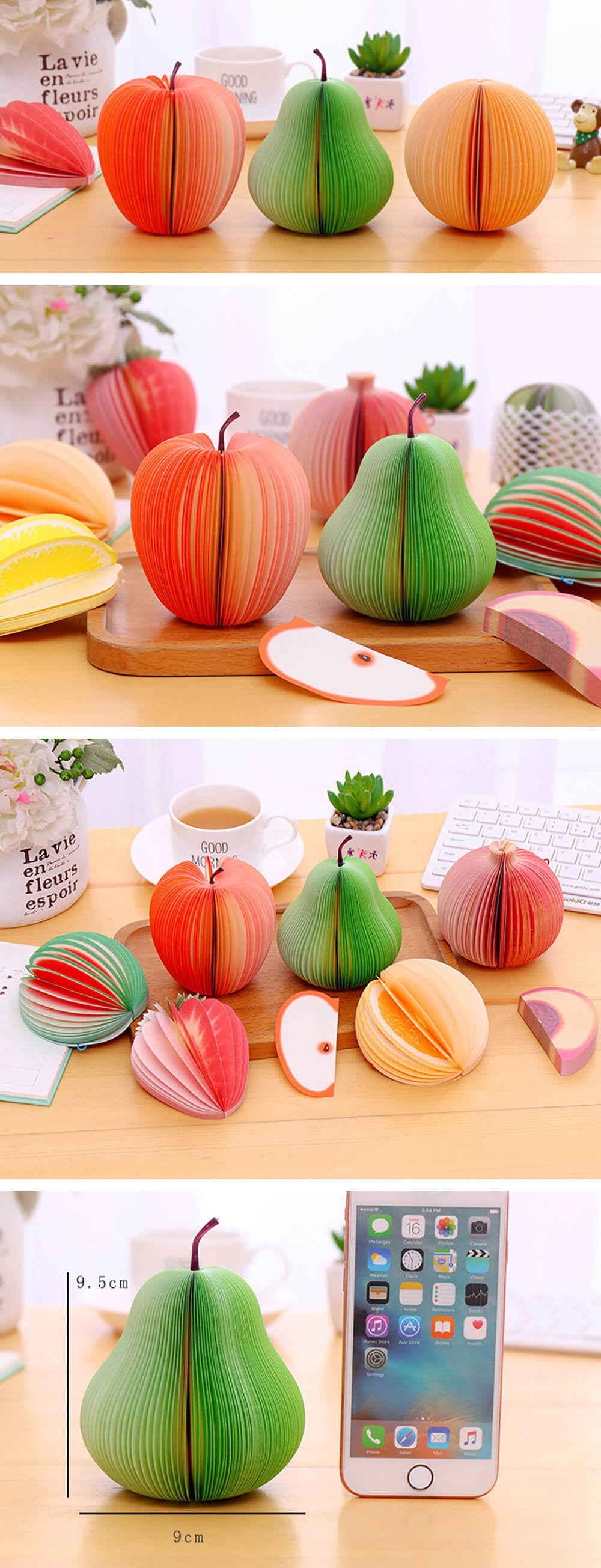 Fruit Mini Note Memo Pad - Showcase