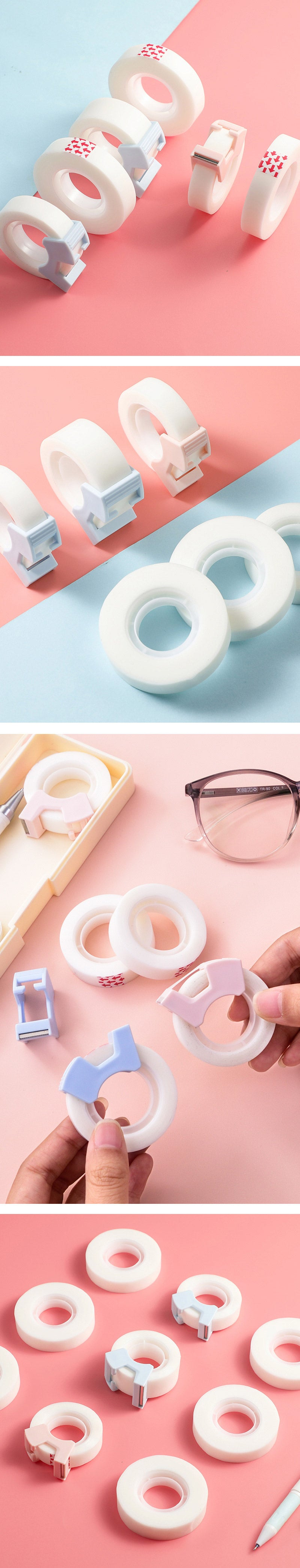 Invisible Matte Adhesive Tape with Dispenser Bundle - Detail