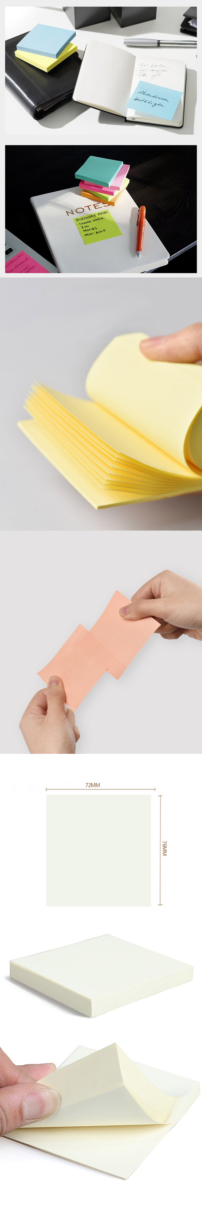 Post-it 3M Super Sticky Notes 4 Pads Pack - Detail