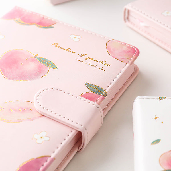 A5 A6 Peach Pink Personal Journal Notebook