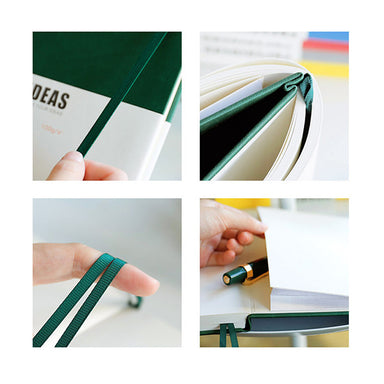 A5 Hard Cover Journal Notebook (Dot/Grid/Line/Blank)