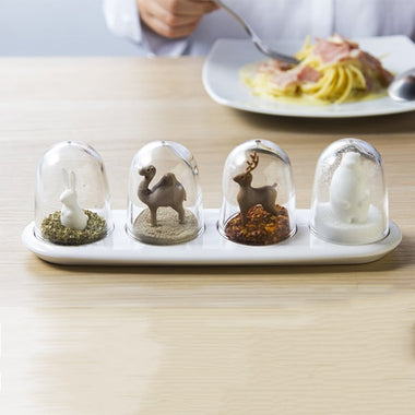 Animal &Four Season Salt and Pepper Shaker Set