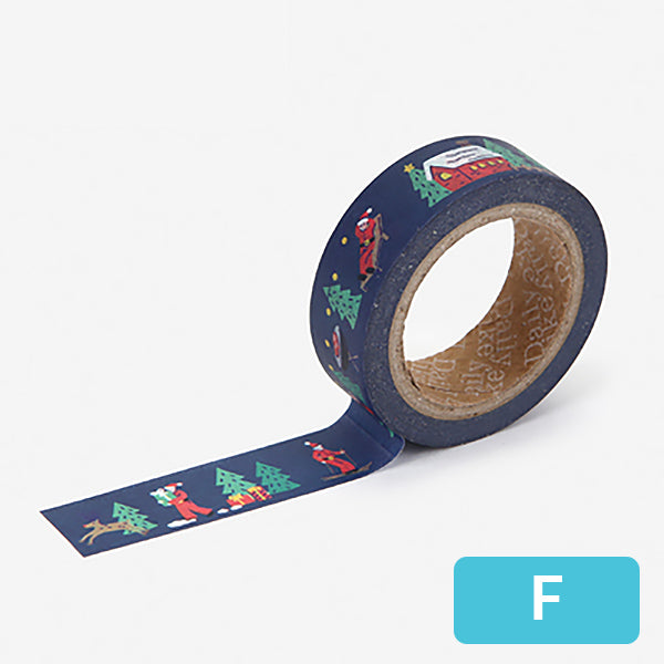Christmas Decorative Washi Tape, F