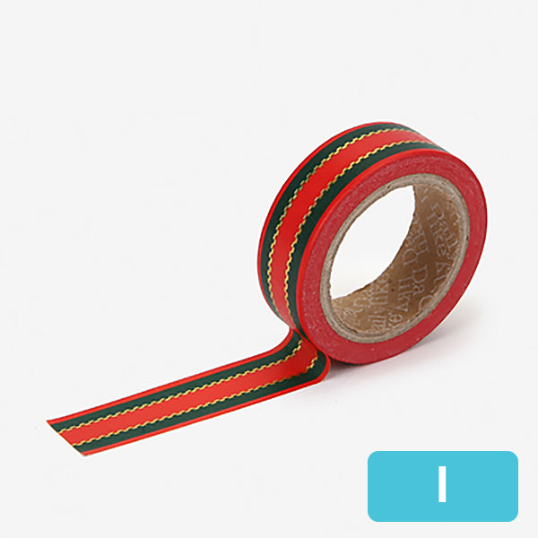 Christmas Decorative Washi Tape, I