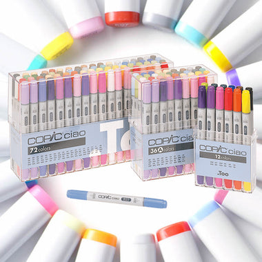 Copic Ciao Markers 12 Colors Set