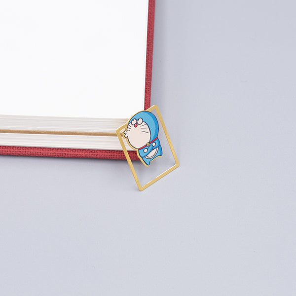 Cute Cartoon Character Metallic Bookmark 10 Pcs Pack, Doraemon