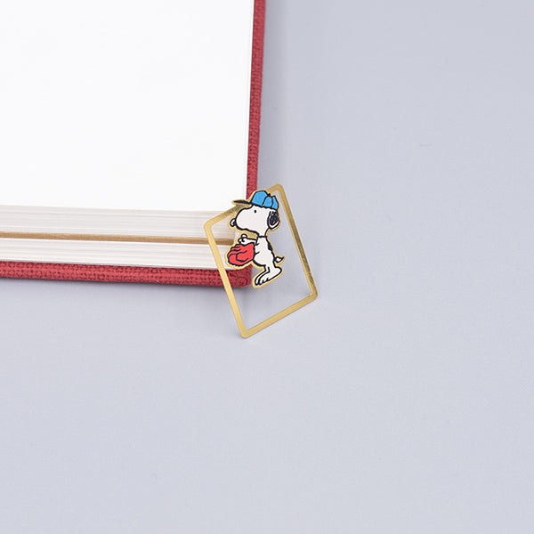 Cute Cartoon Character Metallic Bookmark 10 Pcs Pack, Snoopy