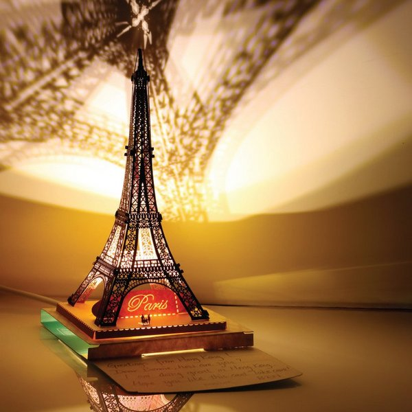 Eiffel Tower Papercut Light Model, 1st Generation 🗼