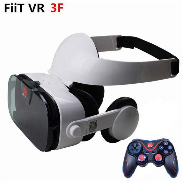FIIT VR 3F Headset (with Remote Control), Headset with Gamepad🎮