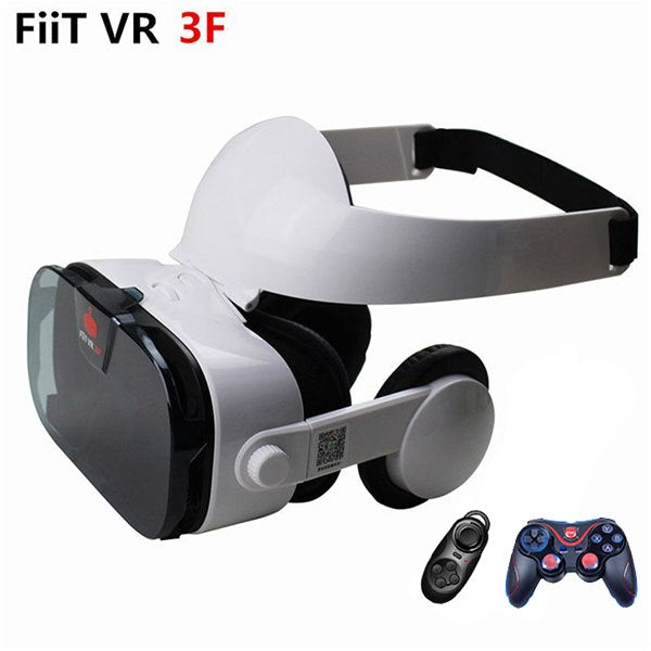 FIIT VR 3F Headset (with Remote Control), Headset with Media Control &Gamepad🎚🎮