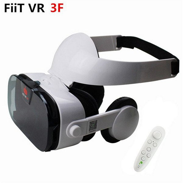 FIIT VR 3F Headset (with Remote Control), Headset with White Remote Control🕹