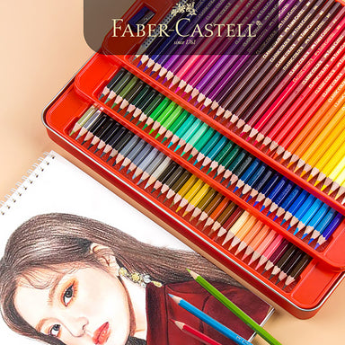 Faber-Castell Watercolor Pencil Parrot Tin Case 24 / 36 / 48 / 60 / 72 Colors Set