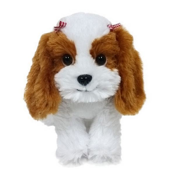 Furry Puppy Plush Toy, C. 🐶Cavallier