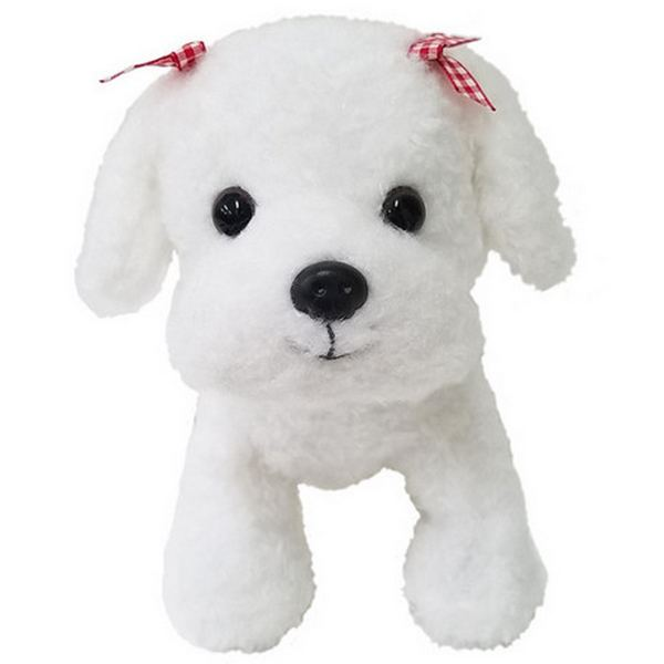 Furry Puppy Plush Toy, N. Maltese