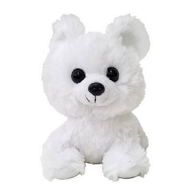 Furry Puppy Plush Toy, I. Pomeranian White