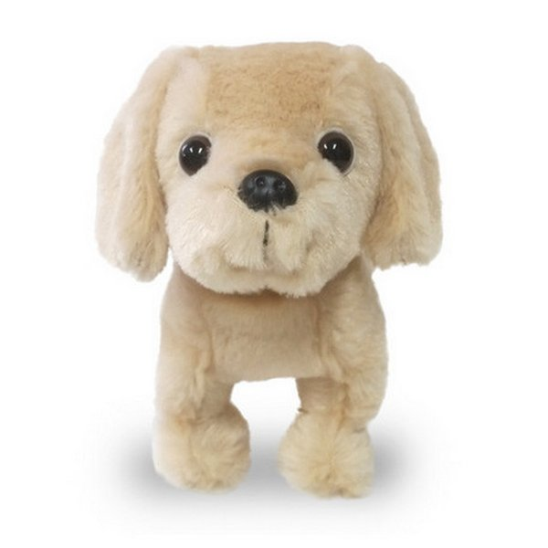 Furry Puppy Plush Toy, M. Lab