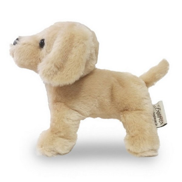 Furry Puppy Plush Toy