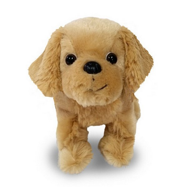 Furry Puppy Plush Toy, J. Retriever