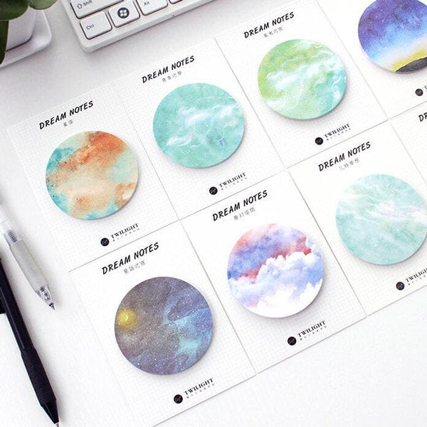 Galaxy Dream Sticky Notes Pack [Gift]