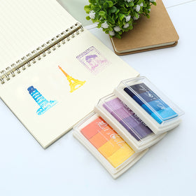 Gradient Colors Stamp Ink Pad