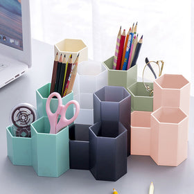 Hexagon Pencil Pot Holder