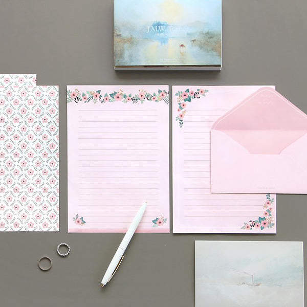 ICONIC Letter Writing Set, Petal