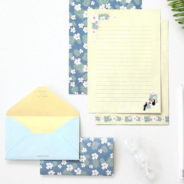 ICONIC Letter Writing Set, Tropical