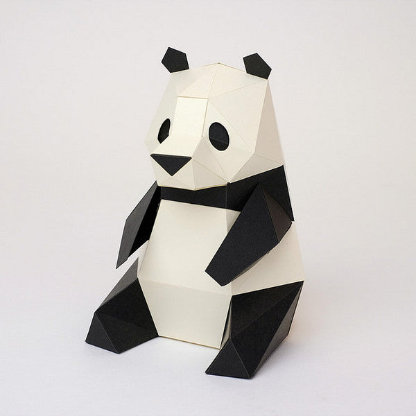 KAKUKAKU Tiny Papercraft Animal, Panda 🐼