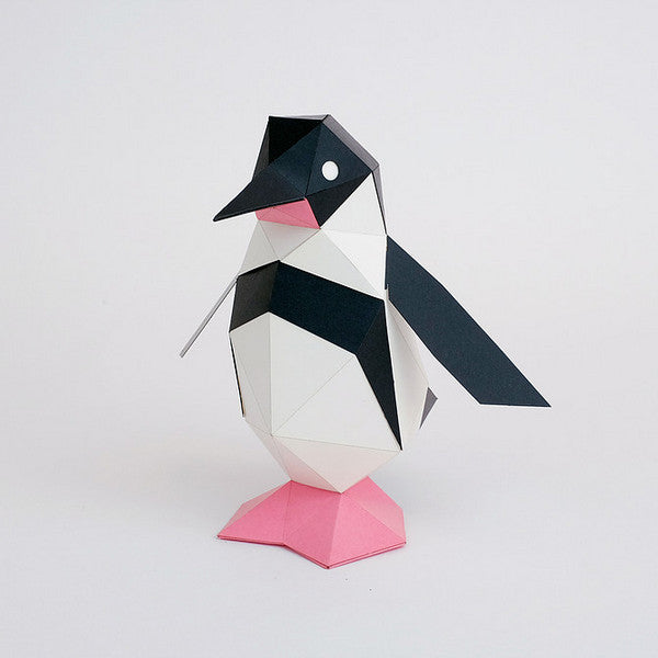 KAKUKAKU Tiny Papercraft Animal, Penguin 🐧