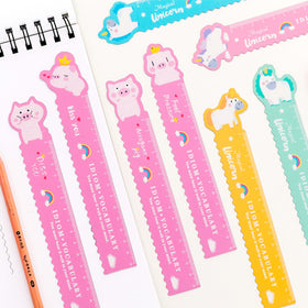 Kawaii Magnetic Ruler Pocket Ruler
