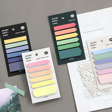 Korea ICONIC Pastel Color Index Tab