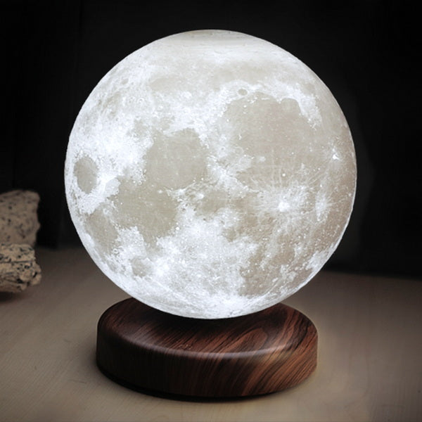 Levitating Moon Lamp, 15cm (6 inch approx.)🌝+ Base