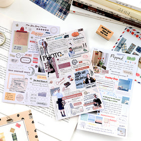 Lift Style Scrapbooking Paper Stickers
