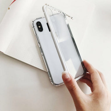 Magnetic Phone Case for iPhone Samsung