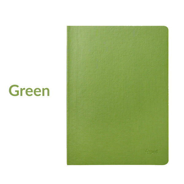 Minimalist Journal Notebook Lined Grid Blank A5/B5, Green / A5 / Gridded