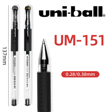 Mitsubishi Uni-ball Signo UM-151 Gel Pen 0.38mm Black